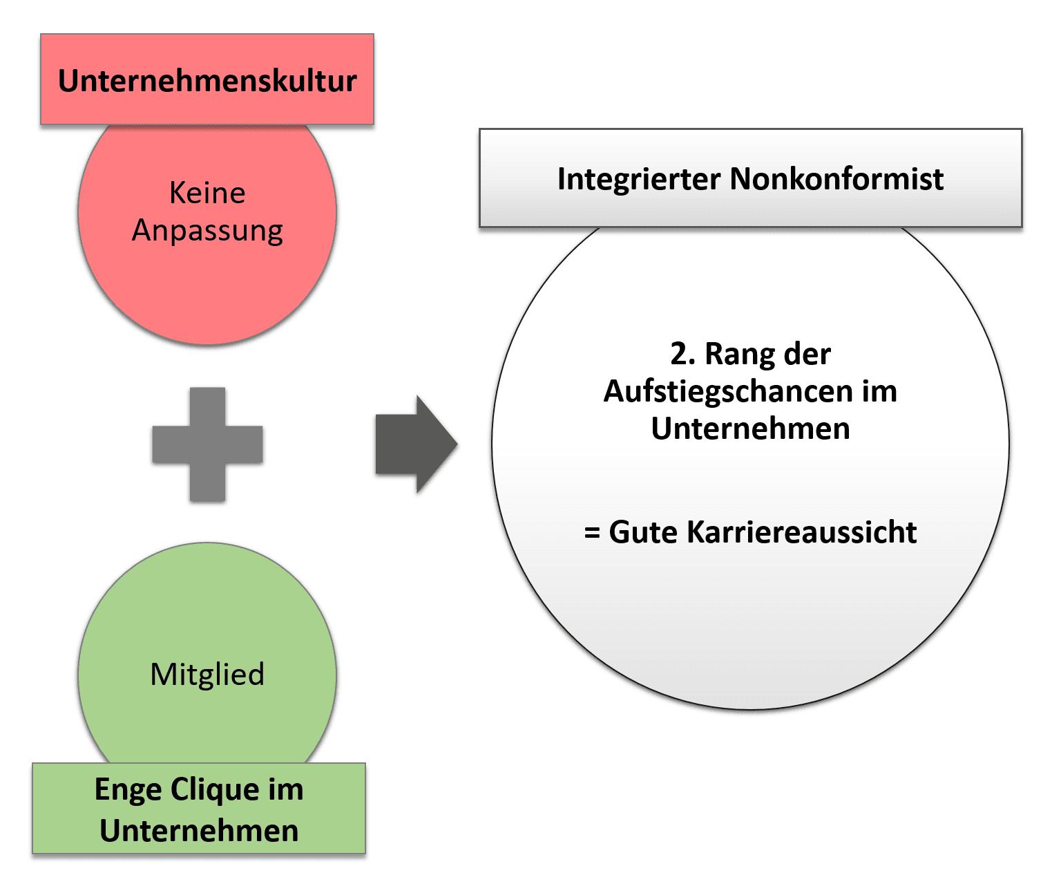 Integrierter Nonkonformist - Merkmale