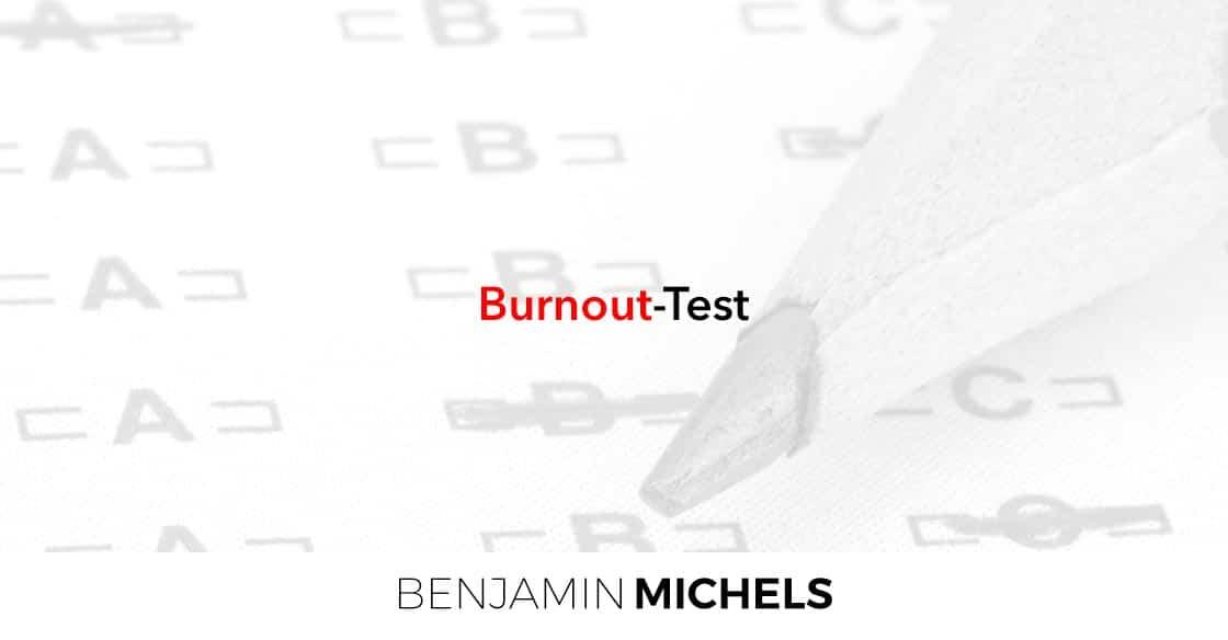 Mache den Burnout-Test