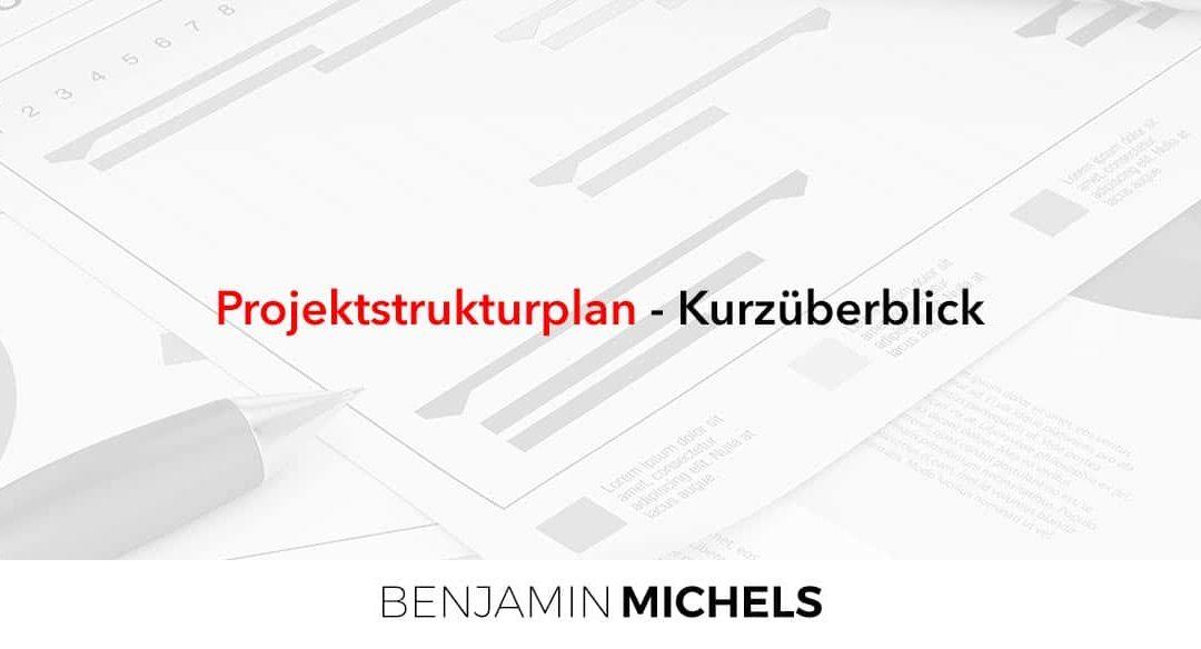 Projektstrukturplan – Kurzüberblick