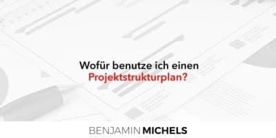 Wofür benutze ich einen Projektstrukturplan?